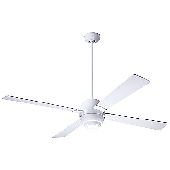 Shown in Gloss White finish with White blades