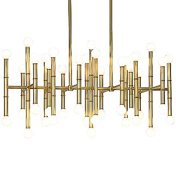 Modern Brass finish