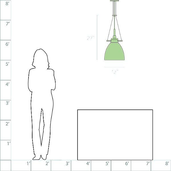 Castelli Pendant Light