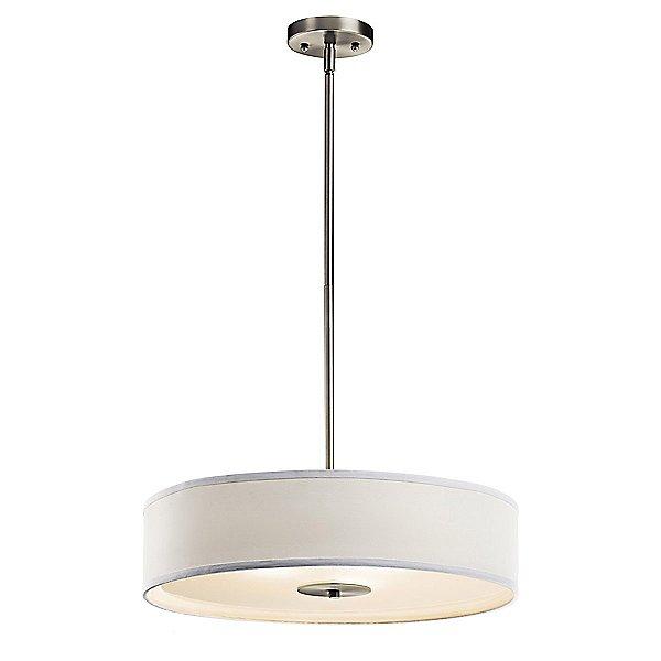 Kichler Convertible Drum Pendant Semi Flush Mount Ceiling Light Ylighting Com