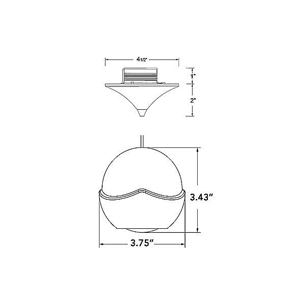 Genesis LED Pendant Light