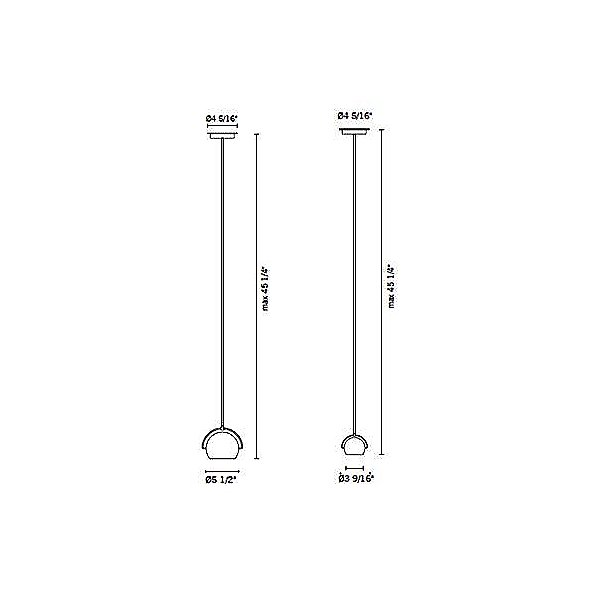 Beluga Steel Pendant Light