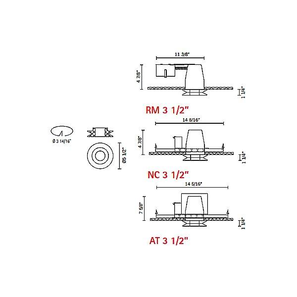 Shivi - Line Voltage Recessed Lighting Kit