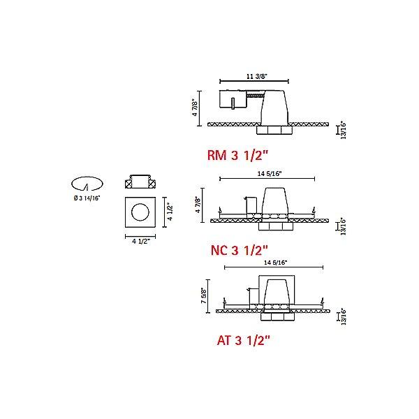 Lui - Line Voltage Recessed Lighting Kit