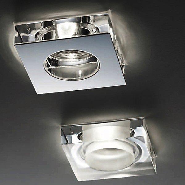 Lui Steel and Crystal - LED Recessed Lighting Kit