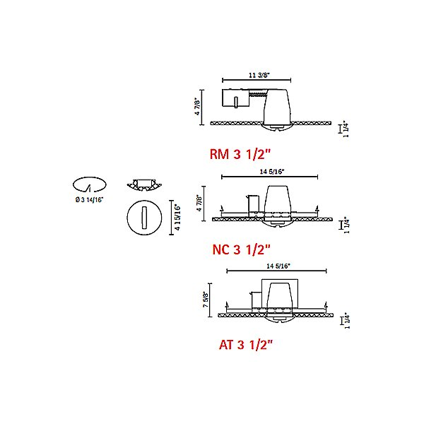 Jnat - Low Voltage Recessed Lighting Kit