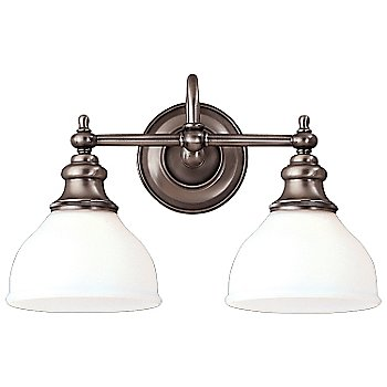 Antique Nickel finish / 2 Lights