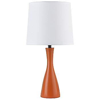 White Linen shade / Carrot base