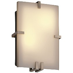Fusion Clips Rectangular Wall Sconce