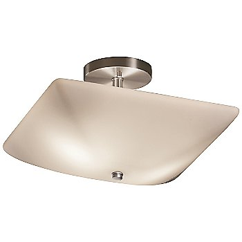 Opal shade / Brushed Nickel finish