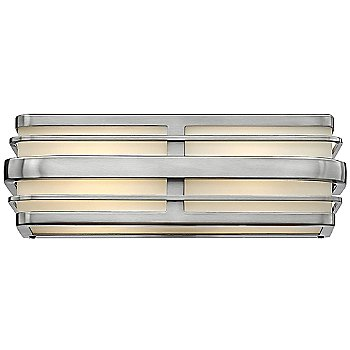 Shown in Small size, Brushed Nickel finish