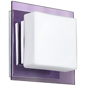 Shown in Opal with Amethyst Shade, Chrome finish
