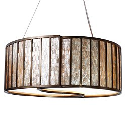 Affinity Drum Shade Pendant Light