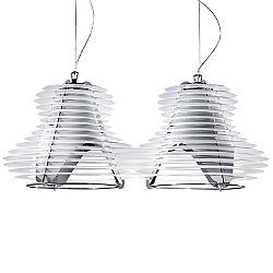 Faretto Double Suspension Light