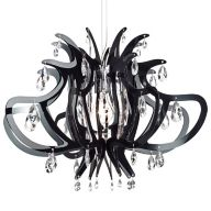 Black Crystal Chandeliers