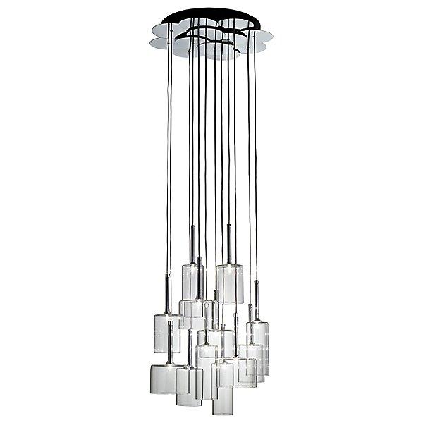 Spillray 12 Light Cluster Pendant Light