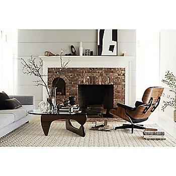 Noguchi Table with Eames Lounge Chair with Ottoman and Lispenard Sofa