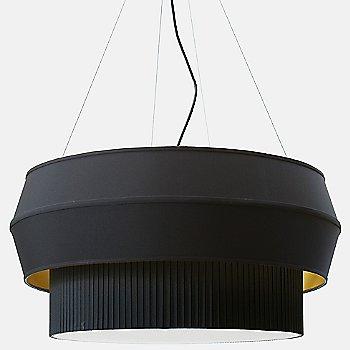 Black with Gold finish / not illuminated