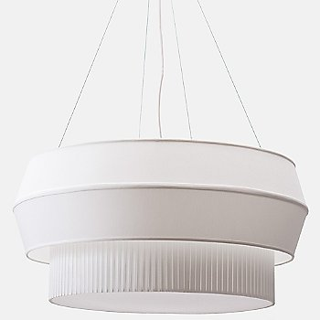 Shown in White and Translucent finish