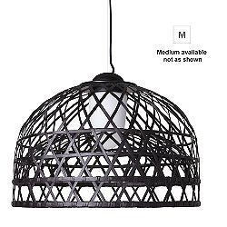 Emperor Suspension Light (Black/Medium) - OPEN BOX RETURN