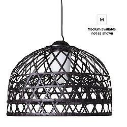 Emperor Suspension Light (Black/Medium) - OPEN BOX RETURN