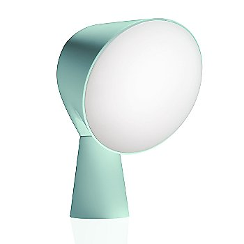 Aquamarine color, angled front view
