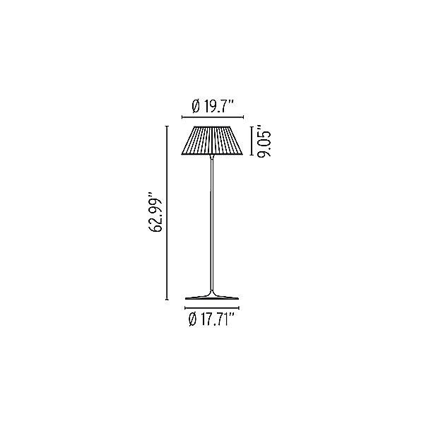 Romeo Soft F Floor Lamp