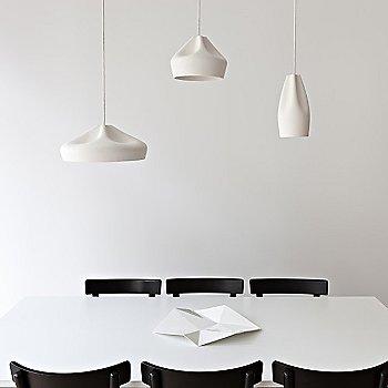 Pleat Box 5 Inch Pendant Light / in use