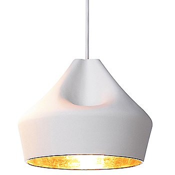 White with Gold shade
