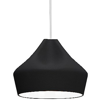 Black shade / White inner shade