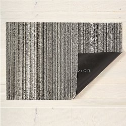 Mixed Skinny Stripe Shag Indoor/Outdoor Mat