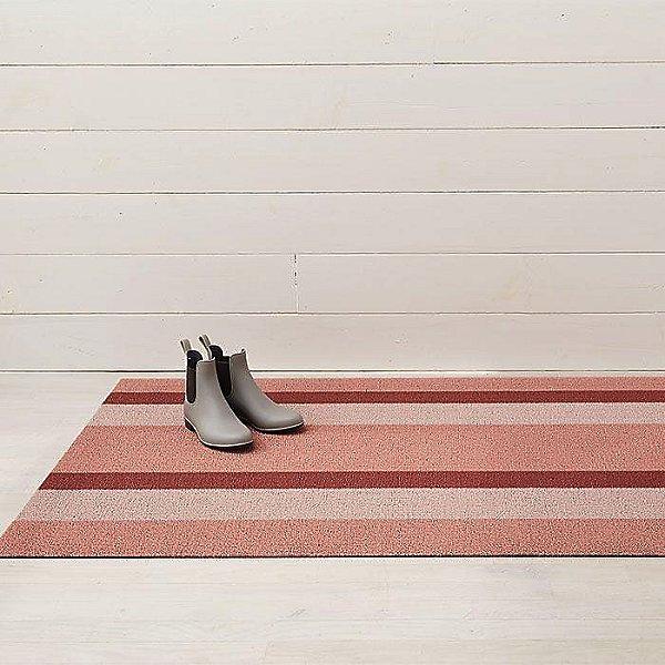Bold Stripe Shag Doormat