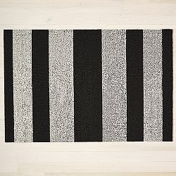 Bold Stripe Shag Indoor / Outdoor Mat
