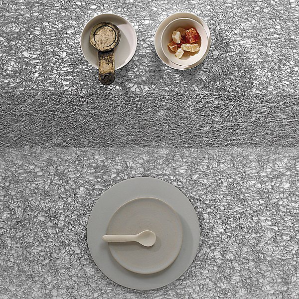 Metallic Lace Rectangular Placemat