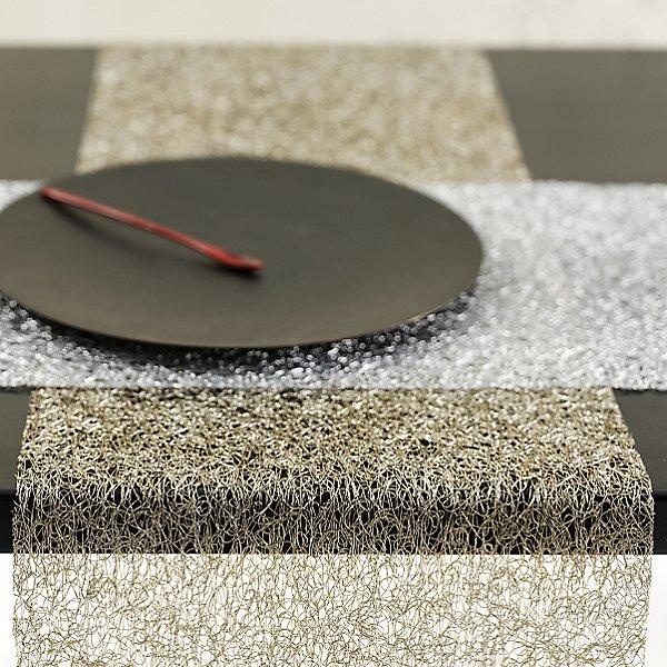 Metallic Lace Table Runner