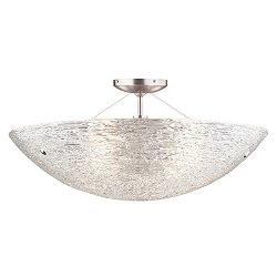 Trace Semi-Flush Ceiling Light