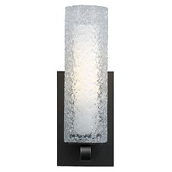Mini Rock Candy Cylinder Wall Sconce