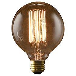 40W 120V G30 E26 Thread Edison Bulb