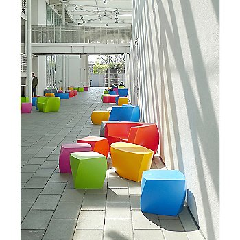 Frank Gehry Color Cube collection, in use