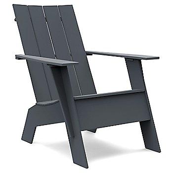 Charcoal Grey / Flat Seat Back