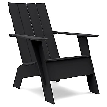Black / Flat Seat Back