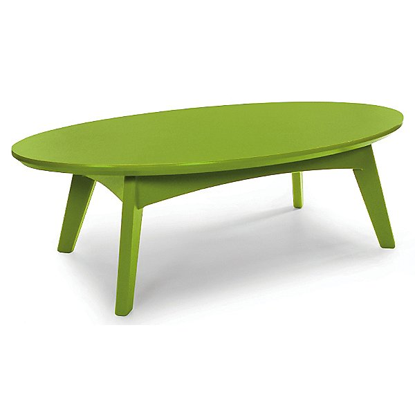 Satellite Oval Cocktail Table