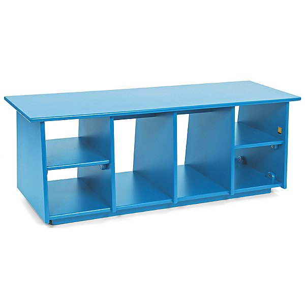 Cubby Bench with Boot Holes