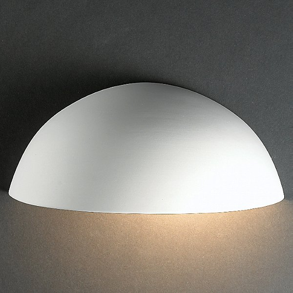 Quarter Sphere Outdoor Wall Sconce