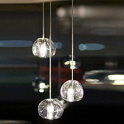 Mizu 3 Light Pendant Light