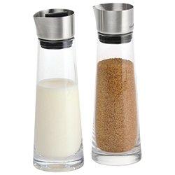 Macchiato Sugar and Creamer Glass Set