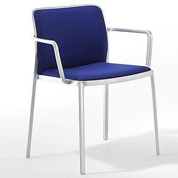 Trevira Blue fabric, Painted White finish