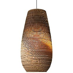 Drop Scraplight Natural Pendant Light
