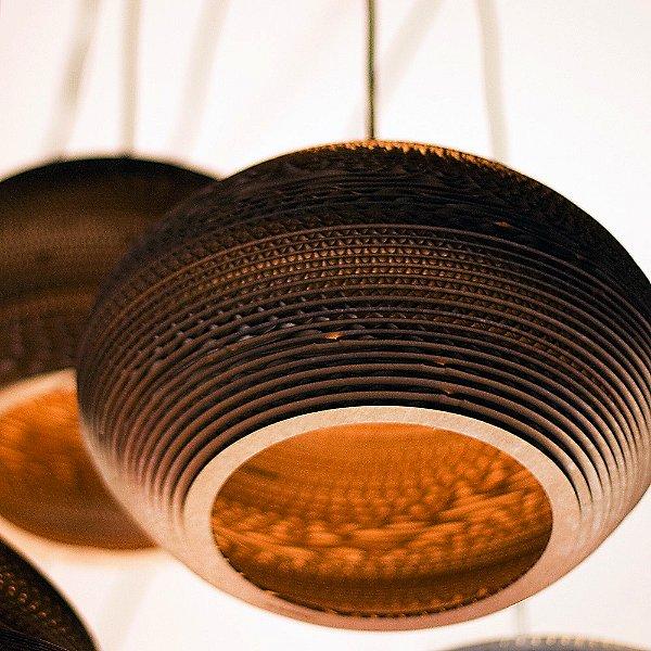 Disc Scraplight Pendant Light