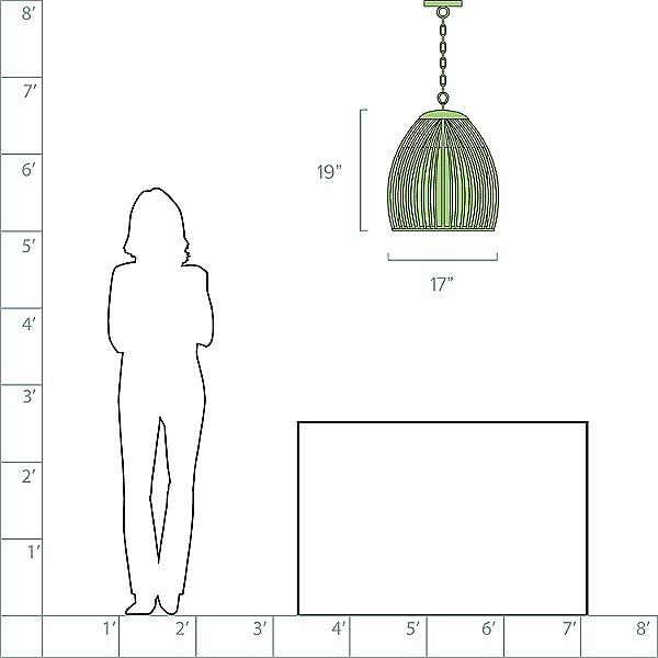 Carling Pendant Light